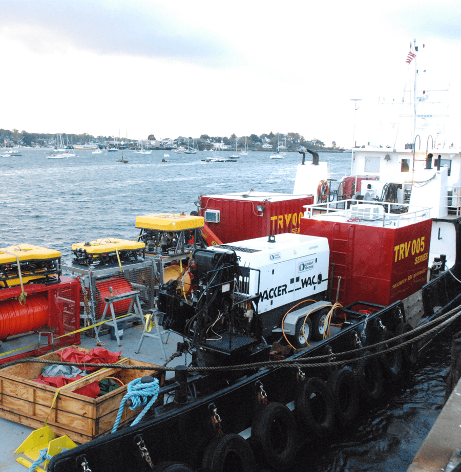 Research and Survey Support Vessels with Miller Marine Services