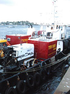 Geophysical Survey Support Vessels with Miller Marine Services