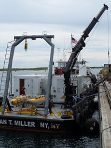 Research and Survey with Miller Marine Services