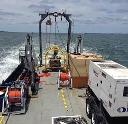 Core and Sampling Service with Miller Marine Services