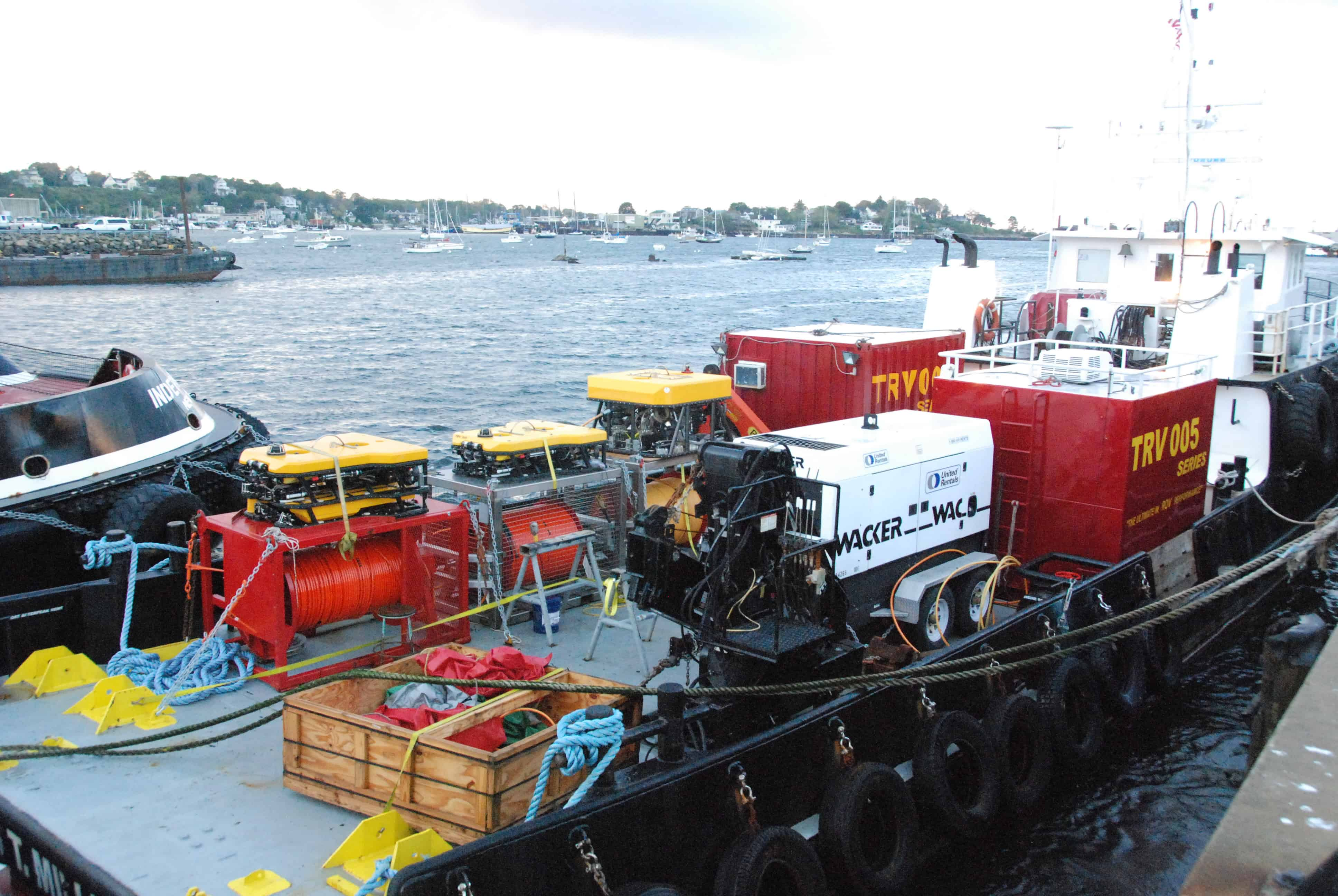 Offshore Wind Farm Vessels Support with Miller Marine Services