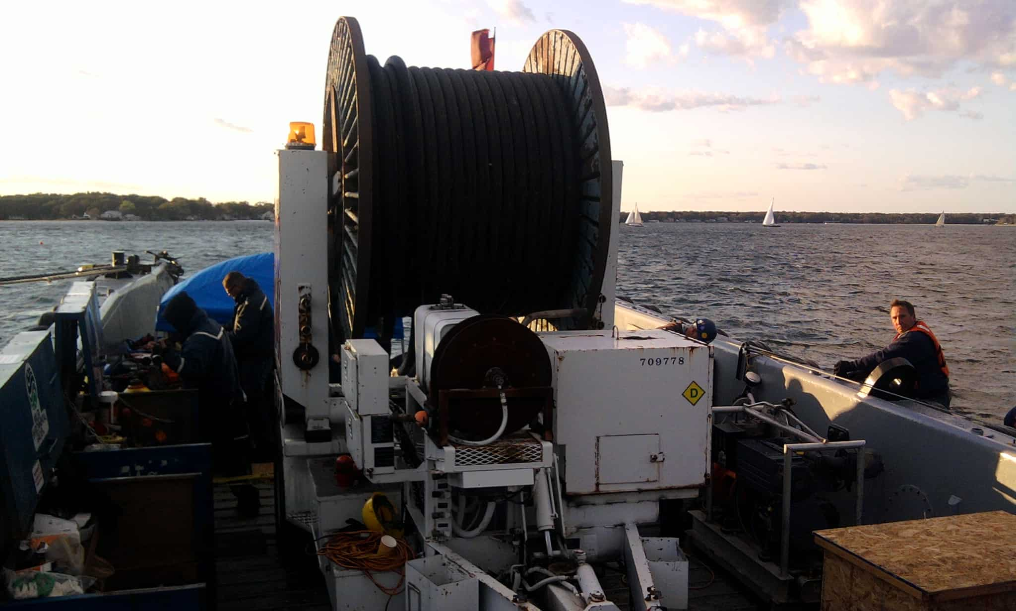 Submarine Cable & Pipe Support Vessels with Miller Marine Services