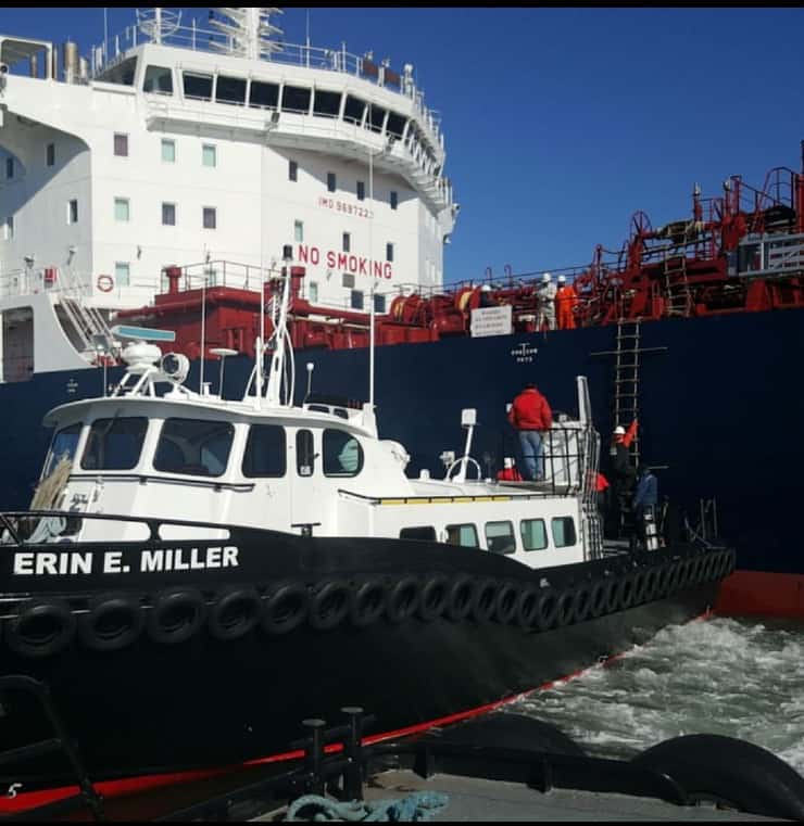 Pilot Transfer Service with Miller Marine Services