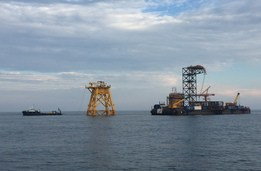 Offshore Wind Farm Construction & Support with Miller Marine Services